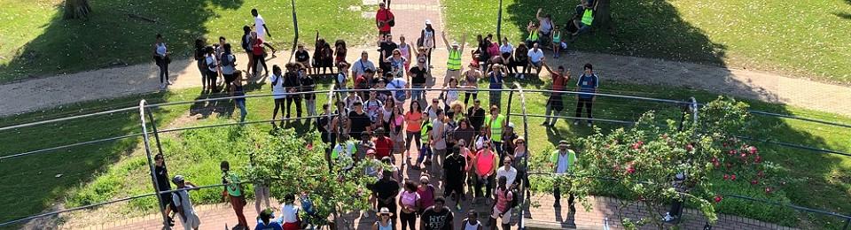 Caminhada E. Secundária da Baixa da Banheira – Dia Europeu do Desporto Escolar on Relive