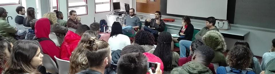 Primeira sessão do Clube de Debate promovida pela Associação de Estudantes da Escola Secundária da Baixa da Banheira (AE/ESBB)